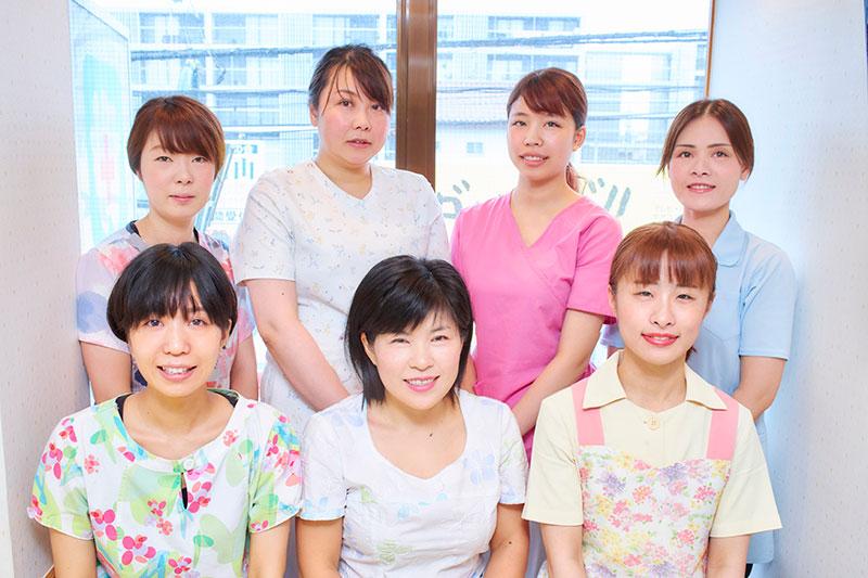 全員女性の患者さまに優しい歯科医院です